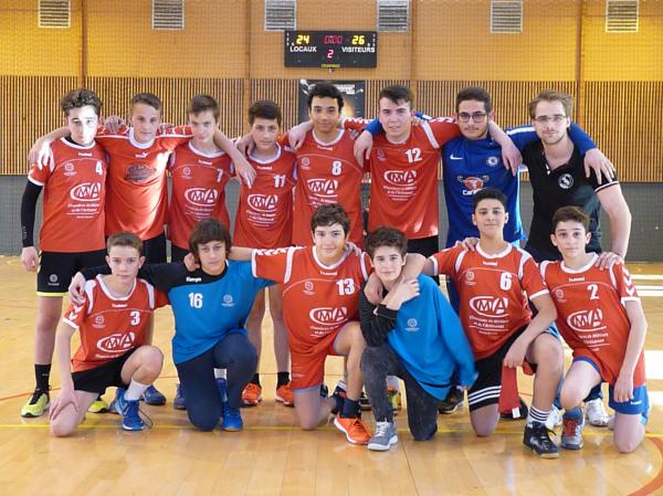 Annecy Handball -15 club
