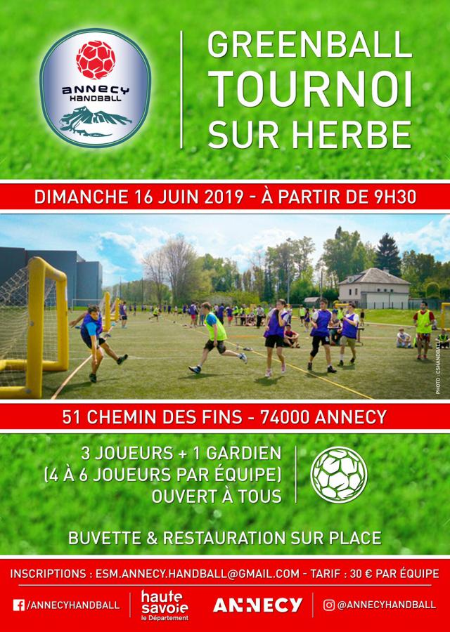 Greenball Annecy Handball 2019